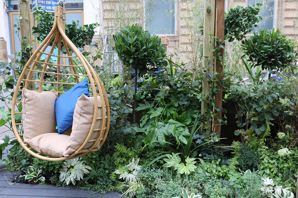 Johnsons of Whixley supply garden display for global coffee brand