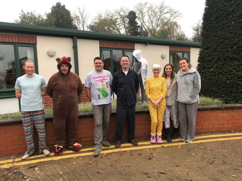 Johnsons raise £300 for Children in Need