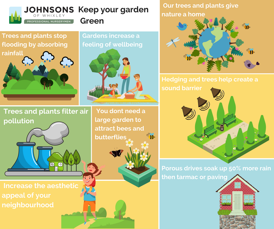 Keeping your garden green is more important than ever before