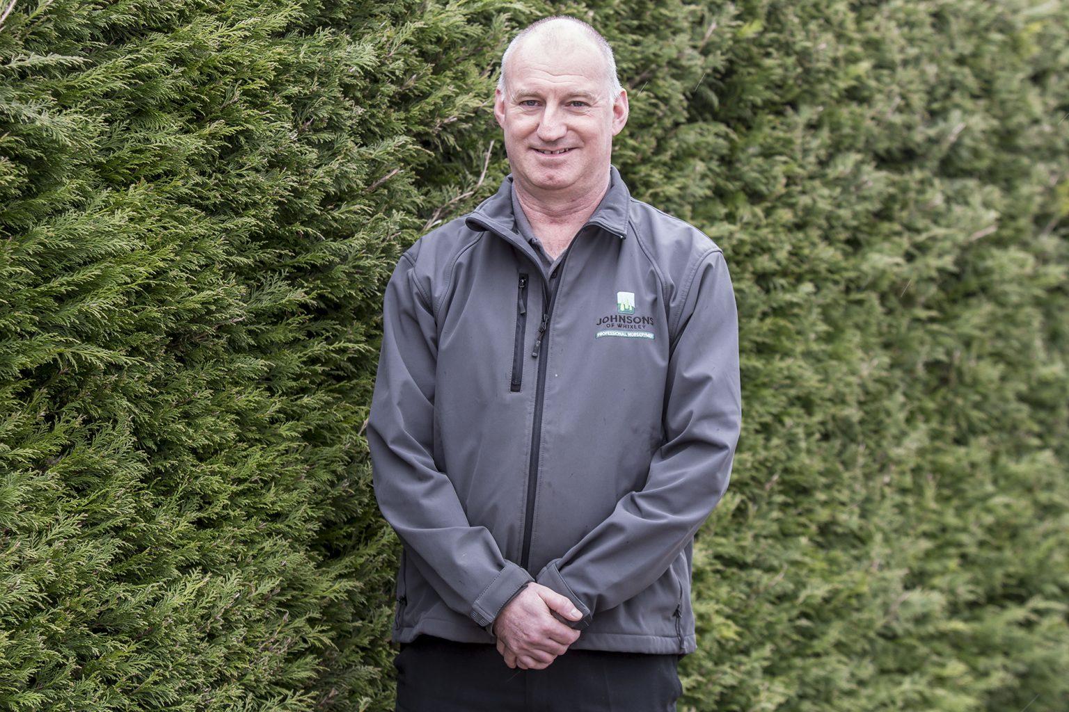 Johnsons of Whixley Meet the boss - Tony Coles