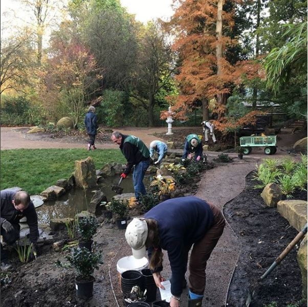 Johnsons help restore Harrogate's grade II listed Valley Gardens