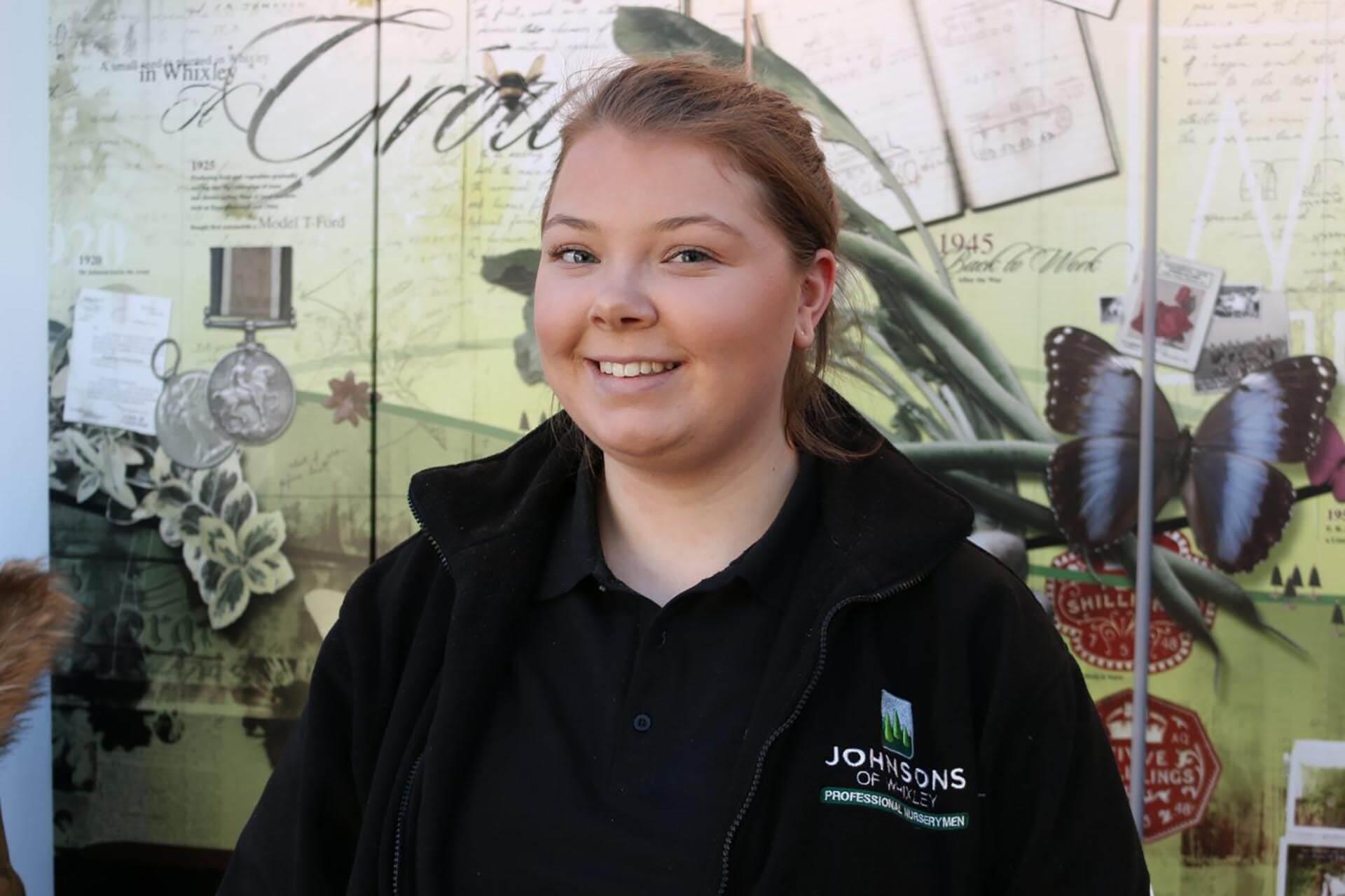 Meet our new sales executive, Hannah Smith
