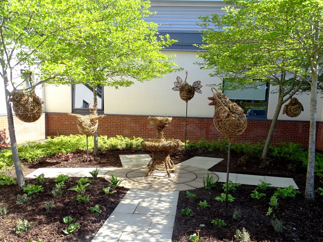 Working with Spa Landscaping to create a healing garden