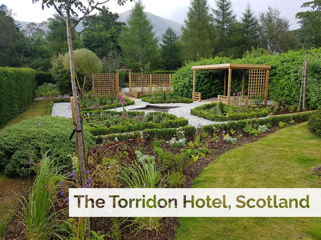 Plant supply to luxury Scottish Highland hotel, The Torridon