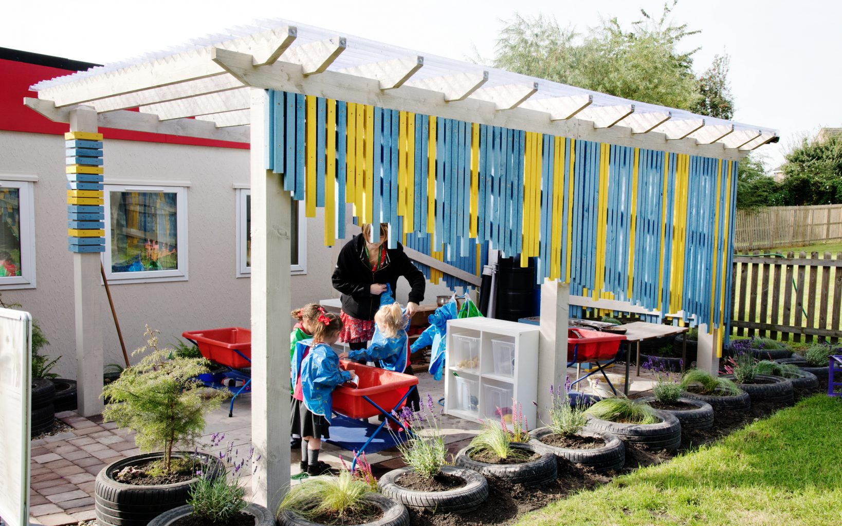 Working with Evoke Landscape Design Ltd to create an outdoor learning area