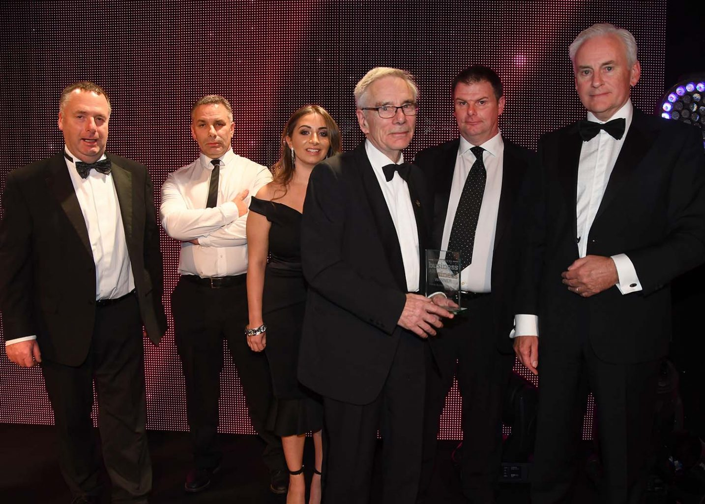 Two awards for Johnsons - 'Family Business of the Year' and 'Business of the Year'