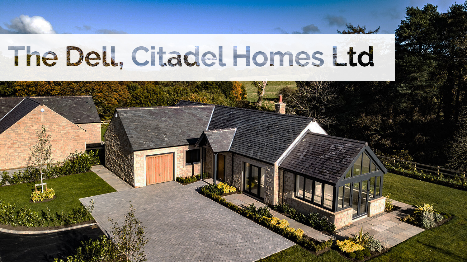 Plant supply to a new luxury development by Citadel Homes Ltd